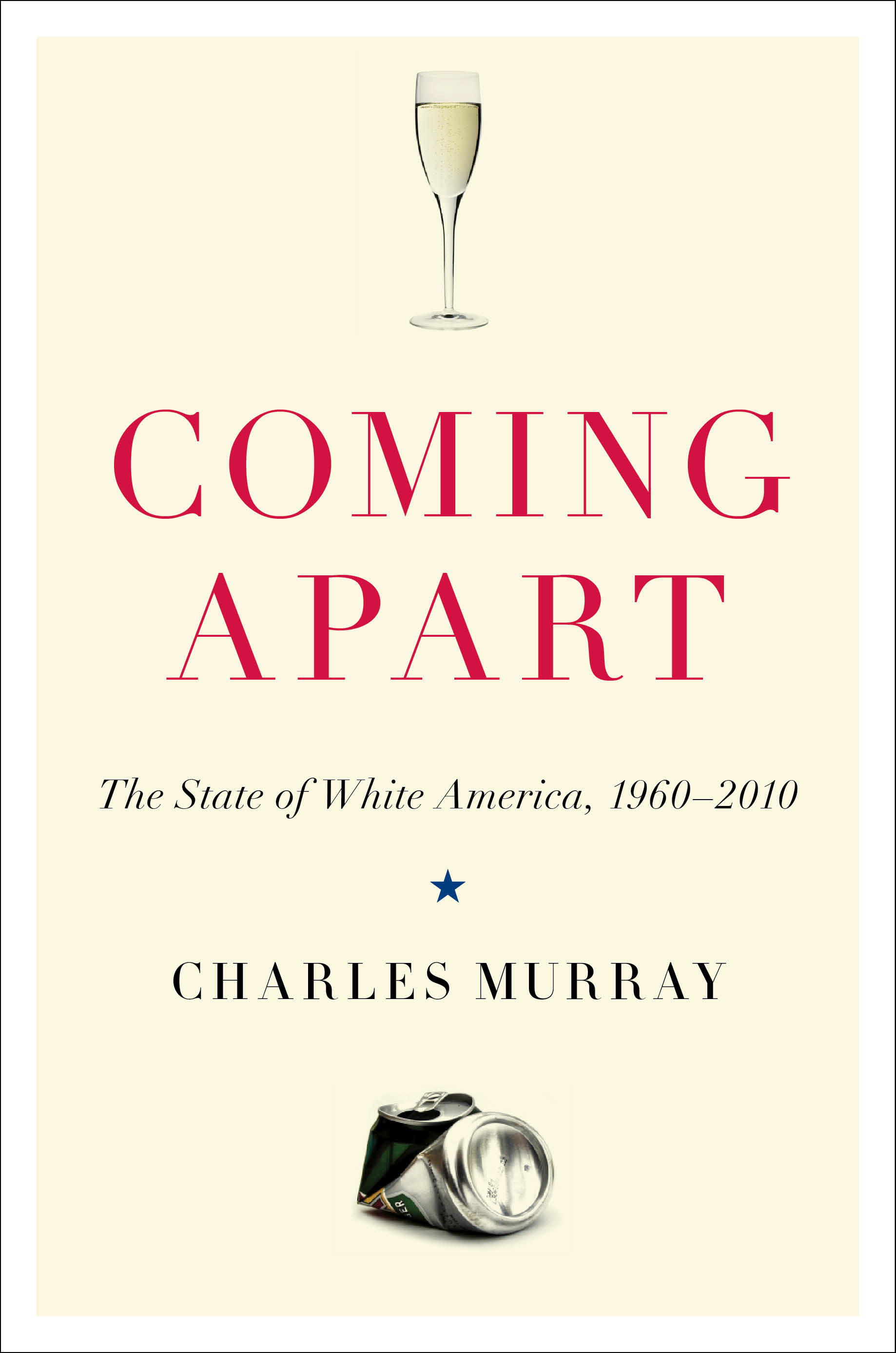 """the cover of the book entitled """"coming apart"""""""