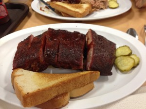 Ribs at Joe's in Kansas City