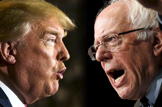 Trump - Sanders  (Salon.com)